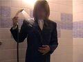 濃紺リクルートスーツ初
