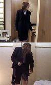 濃紺リクルートスーツ