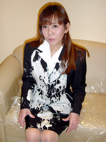 Japanese Wet Amp Messy With Suit Or Outfit For Office Navy