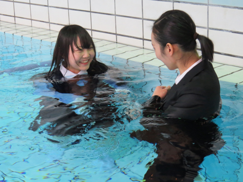 japanese wet u0026messy with suit or outfit for office  wet